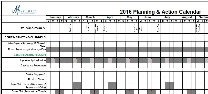 Calendar Planner Tool : The most important business tool for your brand marketicity